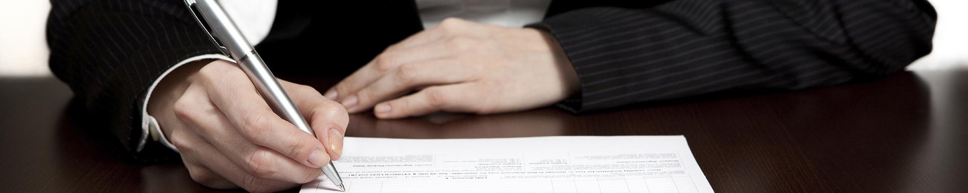 Applying for a job following a dismissal