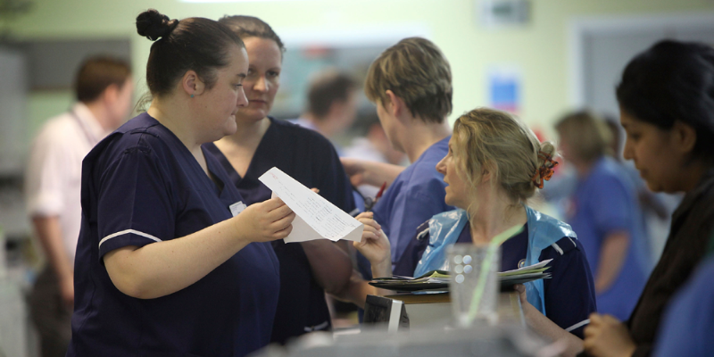 The RCN is calling on the Government to scrap the 1% pay cap for NHS staff