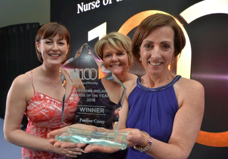 Pauline Casey RCN Northern Ireland Nurse of the Year 2016