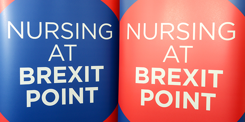 Nursing at Brexit point