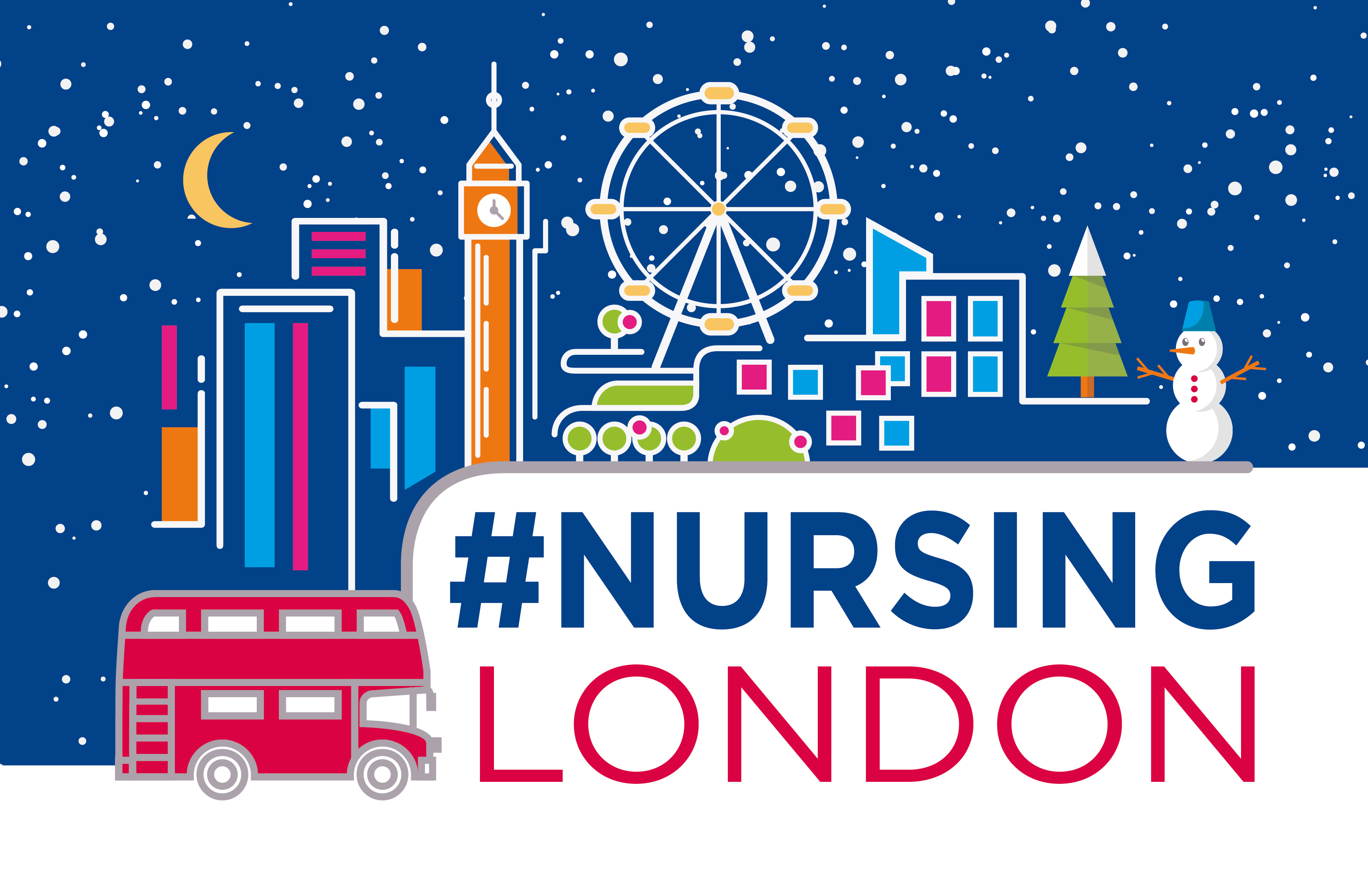 Nursing London Christmas campaign