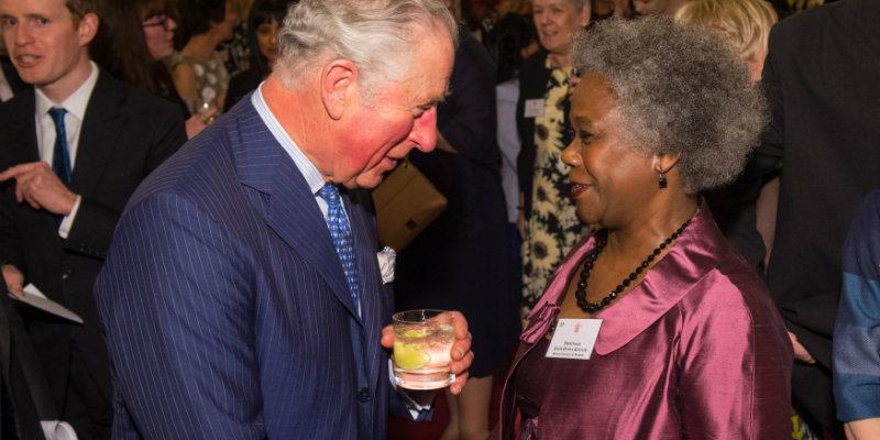 386c11471869 Royal reception celebrates nursing