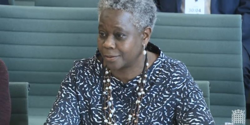 Dame Donna Kinnair gives evidence to the Health and Social Care Select Committee in April 2019