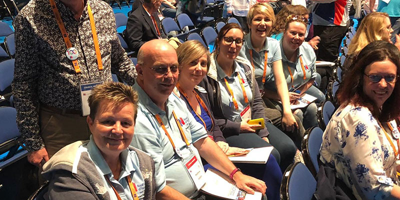 South West members at Congress 2019