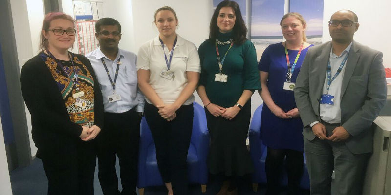 HR staff and Union reps at Southend Hospital