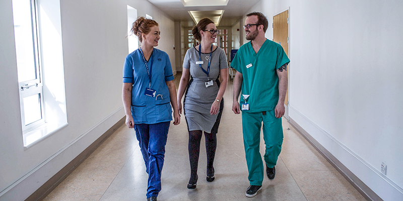 Nursing staff in Scotland