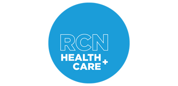 RCN Health + Care logo