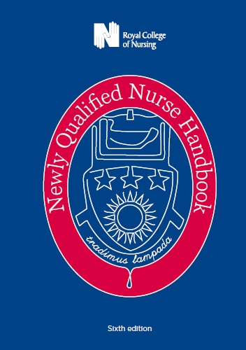 Newly Qualified Nurse Handbook front cover