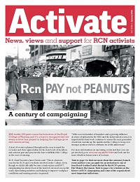 Cover of Activate January 2016 issue