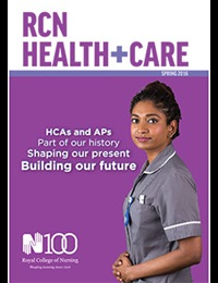 Health+Care spring 2016 cover