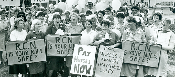 The Voice of Nursing: 100 years of the RCN