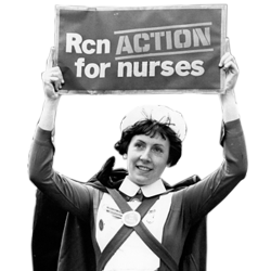Nurse On Strike