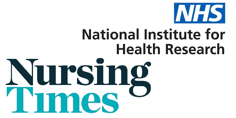 National Institute for Health Research and Nursing Times logos