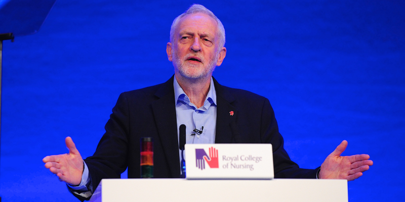 Jeremy Corbyn at RCN Congress
