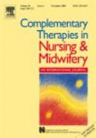 Complementary therapies journal