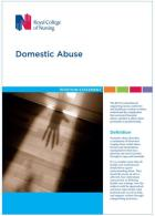 Royal College of Nursing (2017) RCN position statement on domestic abuse, London: RCN.