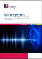 Royal College of Nursing (2018) An education and training framework for aural care nursing and treatment provision. Update 2018, London: RCN.