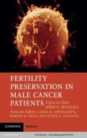 Mulhall, J.P. (2013) Fertility preservation in male cancer patients. Cambridge University Press, Cambridge.