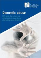 RCN Domestic Abuse