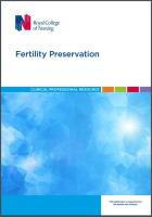 RCN Fertility preservation
