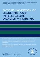 Barr O (2019) Oxford handbook of learning and intellectual disability nursing 2nd ed. Oxford: Oxford University Press