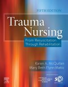 McQuillan K A and Makic M B F (eds.) (2020) Trauma nursing: from resuscitation through rehabilitation. 5th edn. Missouri: Elsevier.