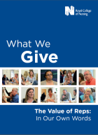 Royal College of Nursing (2017) The value of reps: in our own words, London: RCN.