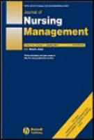 Journal of Nursing Management