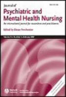 Journal of Psychiatric and Mental Health Nursing