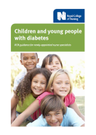 Children and young people with diabetes: RCN guidance for newly-appointed nurse specialists