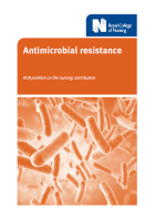 Antimicrobial resistance: RCN position on the nursing contribution