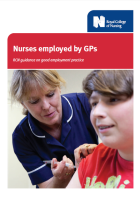 Nurses employed by GPs: RCN guidance on good employment practice