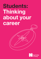 Students: thinking about your career