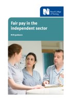 Fair pay in the independent sector