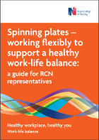 Spinning plates – working flexibly to support a healthy work-life balance