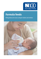 Formula feeds : RCN guidance for nurses caring for infants and mothers