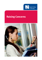 Royal College of Nursing (2017) Raising concerns, London: RCN.