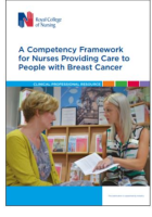 Royal College of Nursing (2019) A competency framework for nurses providing care to people with breast cancer. London: RCN.