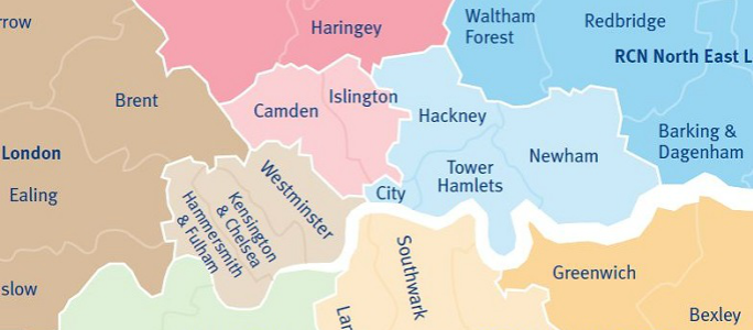 Central London boroughs