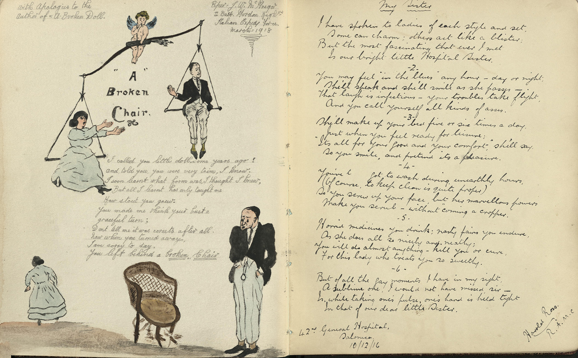 Mabel Pearce's scrapbook