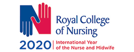 Royal College of Nursing 2020 logo