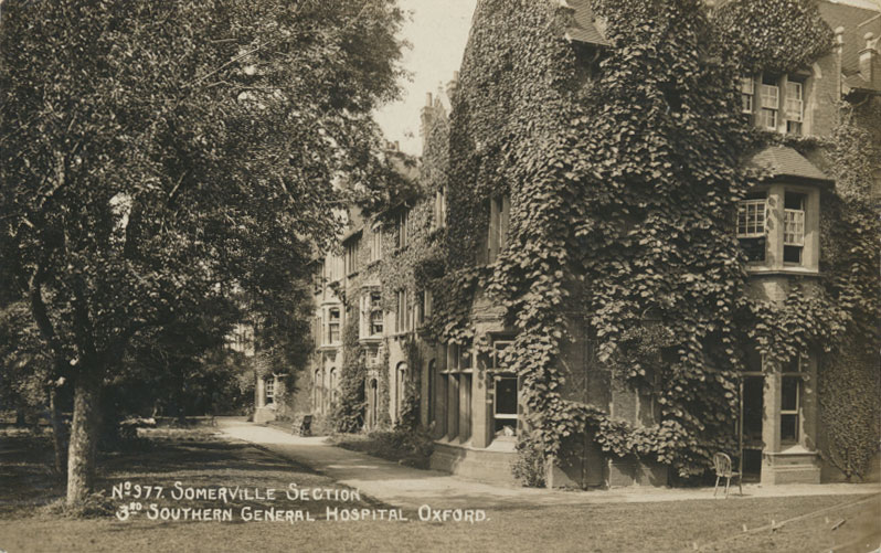 West Wing, Somerville. Image courtesy of the Principal and Fellows of Somerville College, Oxford.