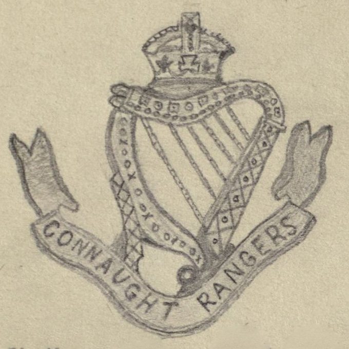 The Connaught Rangers 'The Devil's Own' drawn by Joseph Fairs