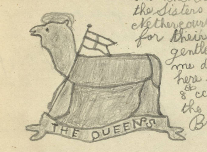 The Queen's (Royal West Surrey) Regiment  drawn by J. C. Dime