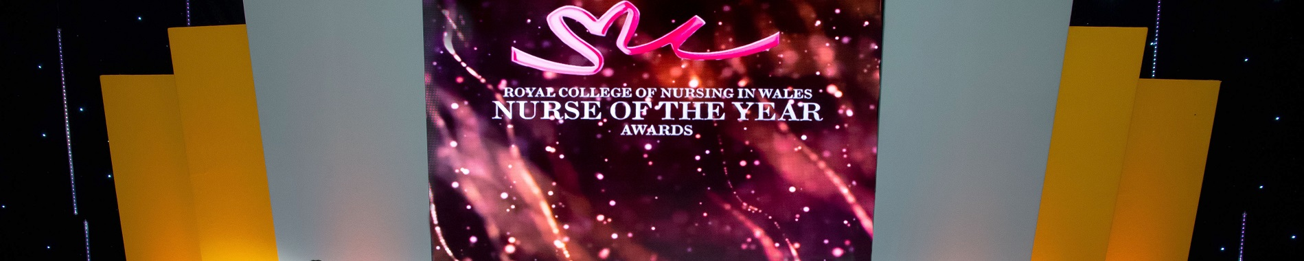 Nurse of the Year award 2018 banner 2