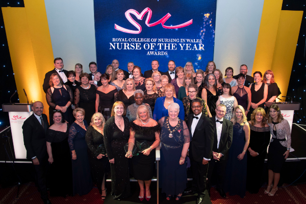 Nurse of the Year awards 2019 finalist group photo