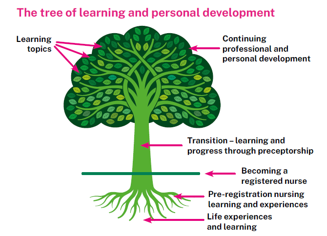 The tree of learning and personal development