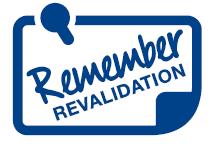 remember revalidation logo